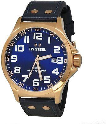 NEW TW Steel Pilot Men's Quartz Watch - TW405