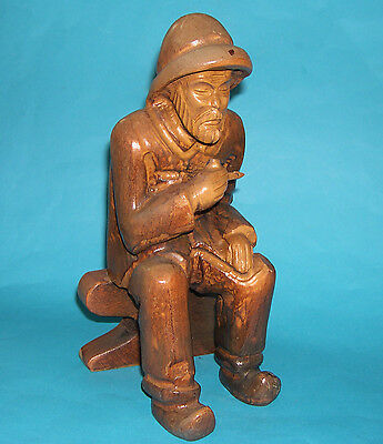 Wood Carving - Charming Large Intricate Figure