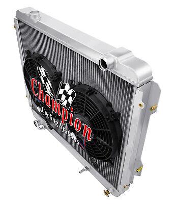 3 Row Best Cooling Champion Radiator W/ 2 12