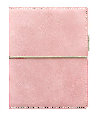 Filofax Pocket Size Personal Organiser Diary - Domino Soft Pale Pink 022581