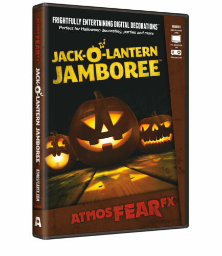 AtmosFearFX Jack-O-Lantern Jamboree Halloween Digital Decoration DVD