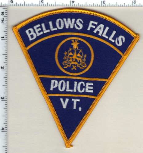 Bellows Falls Police (Vermont) Shoulder Patch from 1987