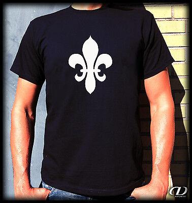 Kult T-Shirt - Fleur-de-Lis / Lys - S-XXL Lilie Monarchie Florenz France Engel Fleur De Lis Lys