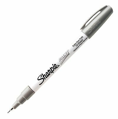 Sharpie Paint Oil Base Metallic Silver Xfn Sharpie 35533 - 1 Each