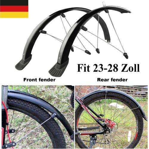 """Fahrrad Schutzbleche Set Vorne Hinten MTB Bike Schutzblech 24"""" 26"""" 28"""" Zoll 60mm"""