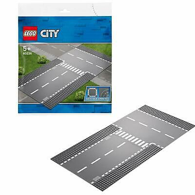 LEGO 60236 City Supplementary Straight And T-Junction Road Plate Extension Piece