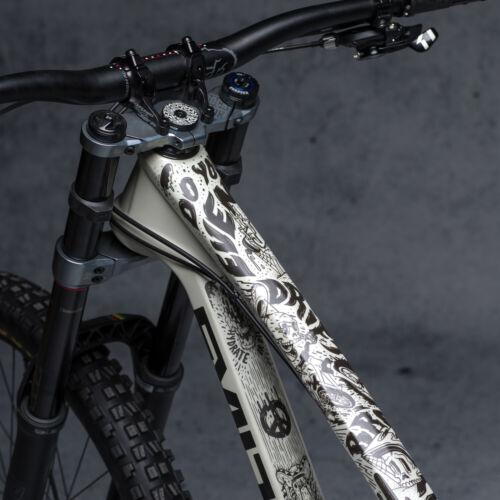 DYEDBRO - Fluor - Bike Frame Protector Cover Wrap Dyed Bro