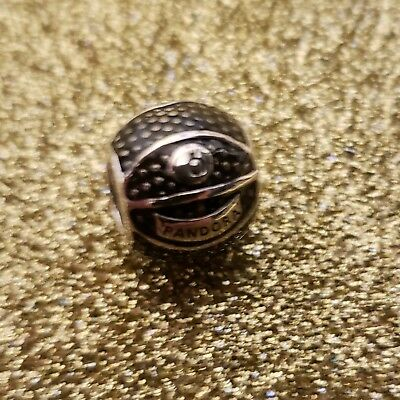 NEW Authentic PANDORA 925 Sterling Silver Basketball Bead Charm 791201