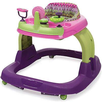 Safety 1st Ready Set Walk 2.0 Home Baby Developmental Activity Walker, Purple