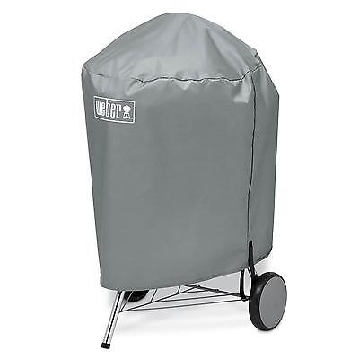 """Weber 7176 Charcoal BBQ Kettle Grill Vinyl Cover 22""""   NEW!"""