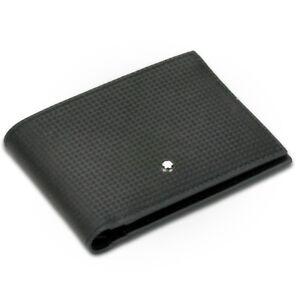 Mont Blanc Extreme Black Leather Wallet 6CC MB111143