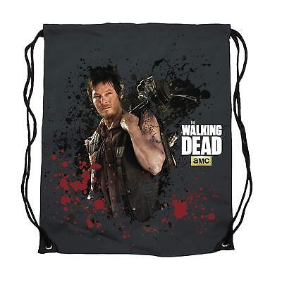 """THE WALKING DEAD """"CINCH BAG"""" Daryl Dixon NEW for sale  Shipping to India"""
