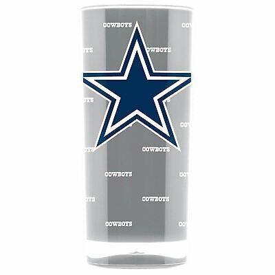 Dallas Cowboys Tumbler Insulated Acrylic Square Tumbler Cup 16 oz. - Dallas Cowboys 16