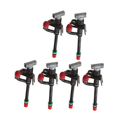 6x Fuel Injector For John Deere Tractor 2955 3100 3155 3200 3255 5103 5103s 5200