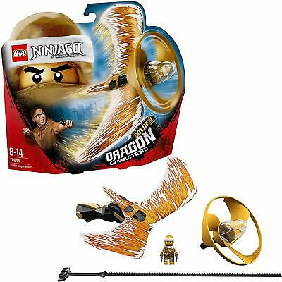 LEGO 70644 Ninjago Golden Dragon Master Flying Toy, Easy to Fly Glider for Kids