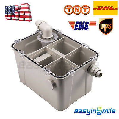 Usdental Plaster Powder Trap Filter Separator For Dental Office Labeasyinsmile