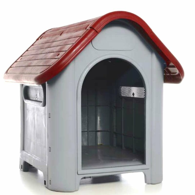 LavoHome All Weather Doghouse Puppy Shelter Pet Dog House Portable Waterproof...