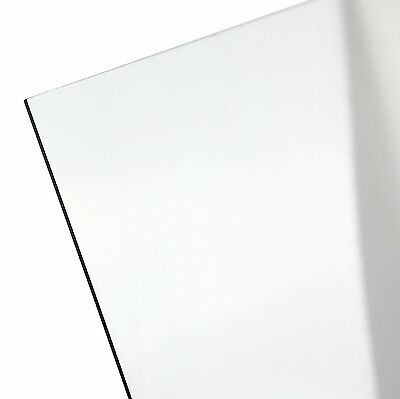 Polycarbonate Sheet - 116 .0625 Thick - 24 X 48 Clear - Lexan Nominal