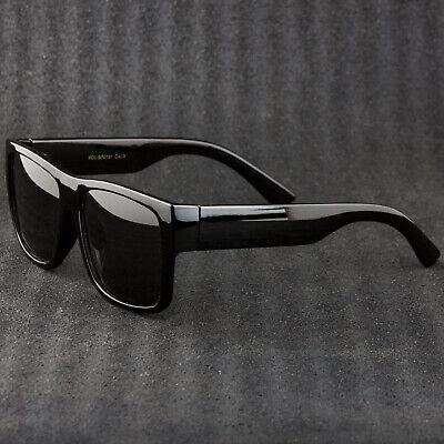 Polarized Unisex Thick Frame Best Trendy Sunglasses 100% UV (Best Mens Frames)