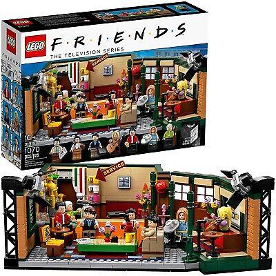 NEW LEGO Ideas 21319 Friends Central Perk Building Kit 1,070 Pieces TV Set Cafe