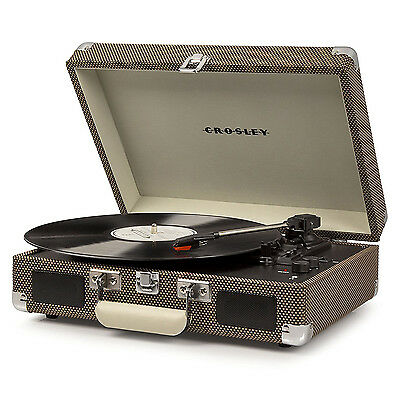 Crosley Cruiser Deluxe Tweed With Added Bluetooth And Pitch