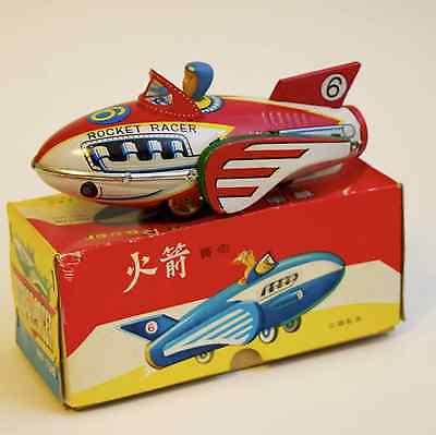 Blechspielzeug Tin Toy China 'Rocket Racer' MF735 mit Original Karton