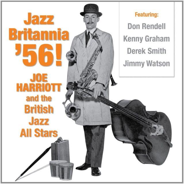 Joe Harriott &British Jazz All Stars Jazz Britannia 56 CD NEW SEALED Don Rendell