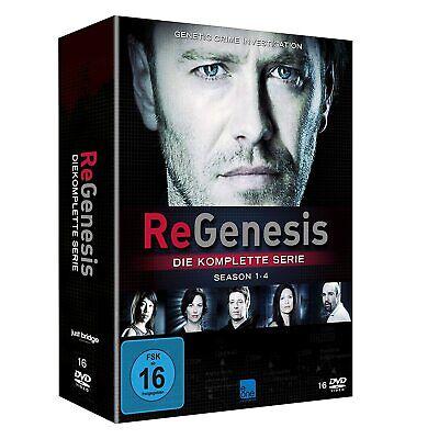 REGENESIS Season STAFFEL 1 2 3 4 KOMPLETTE SERIE Gesamtbox 16 DVD BOX Limited