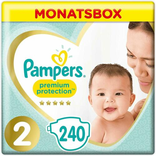 Pampers Premium Protection Windeln, Gr.2, 4-8kg, Monatsbox, 1er Pack