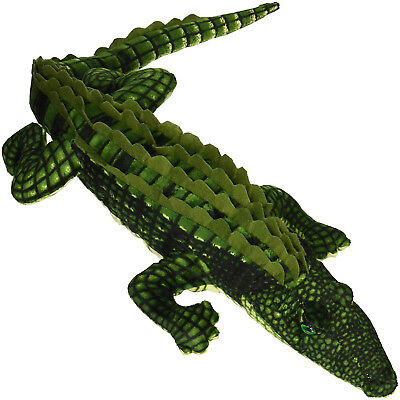 Fiesta Toy Alligator Plush 27 inch Tip of Nose to tail Stuffed Animal  - Fiesta Toy