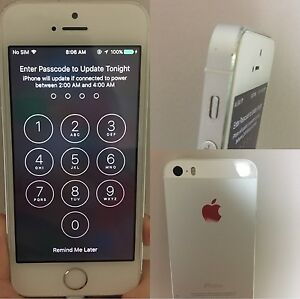 iPhone5s unlocked 32G white