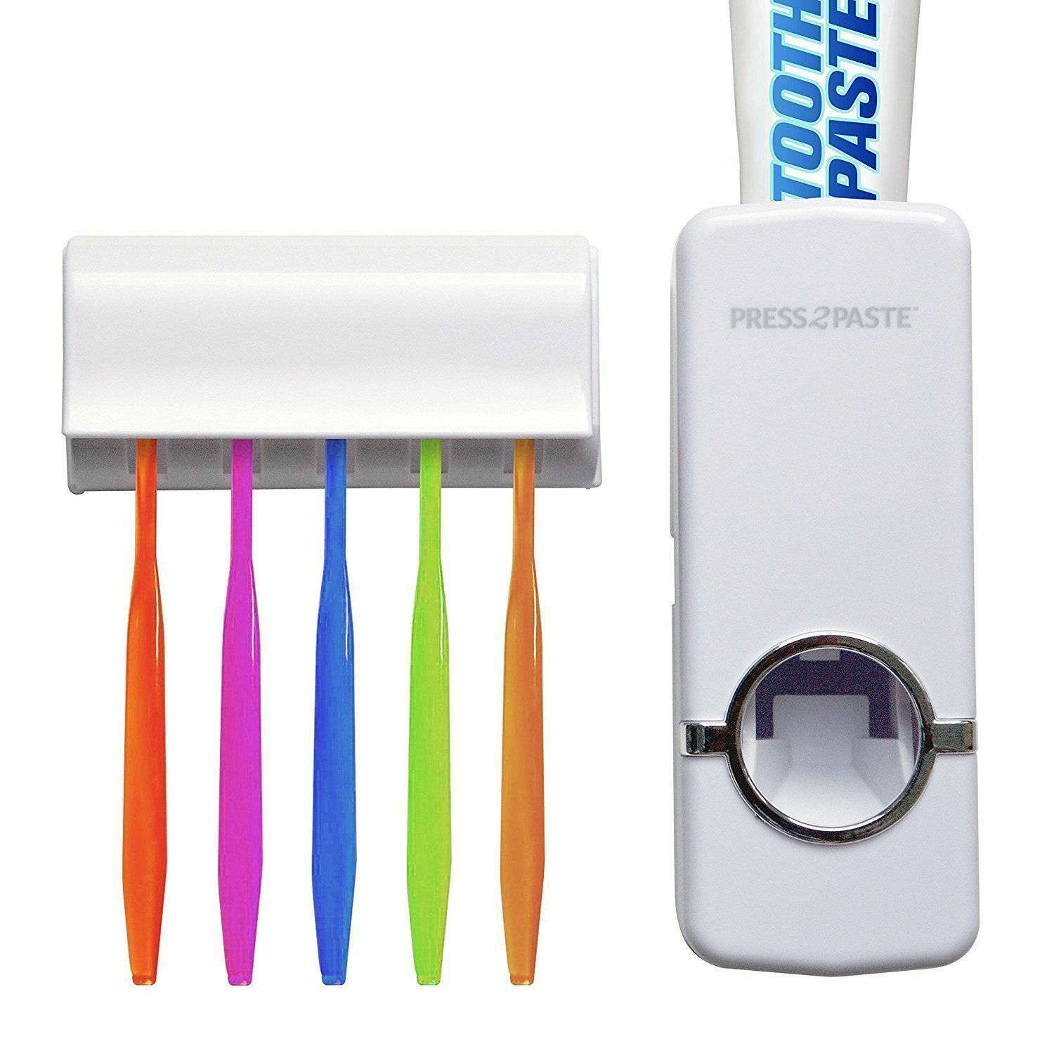 Press 2 Paste - Hands Free Automatic Toothpaste Dispenser an