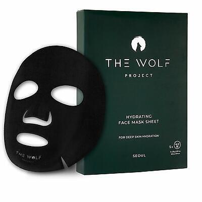 Korean Bamboo Charcoal Facial Mask Sheet for Men Best Hydrating Formula