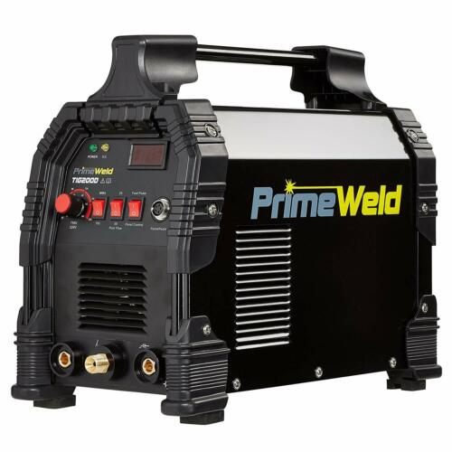TIG/Stick TIG200-DC Welder 200Amp with Pedal Inverter Power Welding for Steel