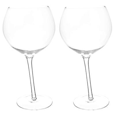Large Wonky Gin And Tonic Glasses G & T COPA Glass Balloon Gift Set 2x800ml UK for sale  Shipping to Canada