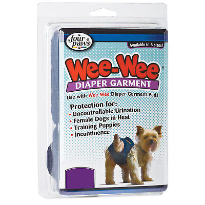 Four Paws Wee-Wee Dog Diaper Garment X-Large. NEW Dog Diaper Garment