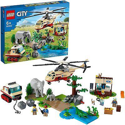 LEGO City Wildlife Operazione di Soccorso Animale 60302 (st)