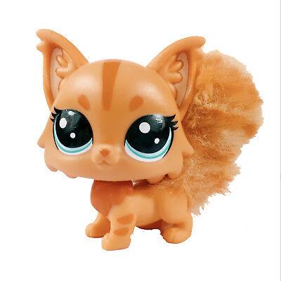 - Littlest Pet Shop LPS Furrytail MAINE COON Brown CAT Kitten Limited Edition