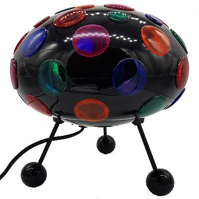 Disko Kugel Lampe Disco UFO Licht bunt Party Spaß Lichter Leuchten Discolight
