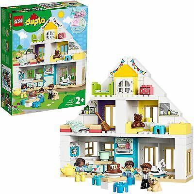 LEGO10929DUPLOTownModularPlayhouse3-in-1Set,HousewithFigures& Animals