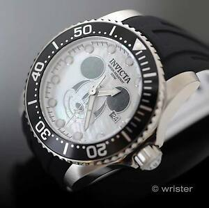 invicta mens watch limited edition invicta disney limited edition automatic black white mop mickey mouse mens watch
