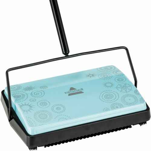 Bissell Refresh Manual Sweeper Pirouette 2199 Blue