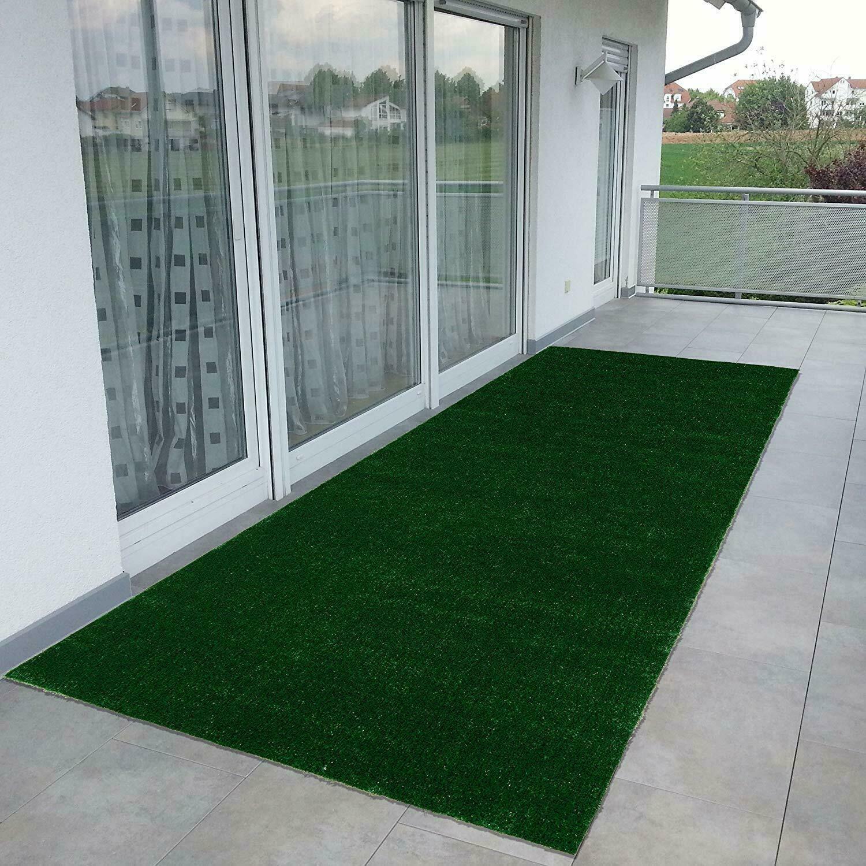 Outdoor Turf Rug Green Artificial Gr