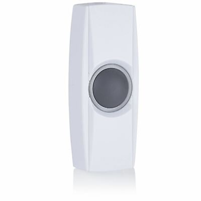 Byron BY34 Extra wireless bell push – BY series – White
