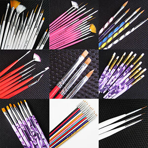Nail-Art-Pen-Brush-UV-Gel-Acrylic-Painting-Drawing-Liner-Polish-Brushes-Tips-B