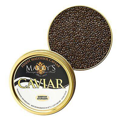 Fresh Catch, Farmed Siberian Osetra Caviar, Baerri from Italy - 2 oz Fresh Osetra Caviar