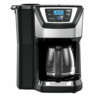 Coffee Maker With Grinder Reflex Whole Bean 12 Cup Machine Quick Touch Brewer