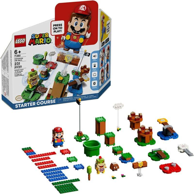LEGO Super Mario Adventures with Mario Starter Course 71360 231 Pieces NEW Seal