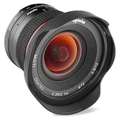 Opteka 12mm f/2.8 Instructions Wide Angle Lens for Nikon 1 J5 J4 J3 J2 J1 S2 S1 V3 V2