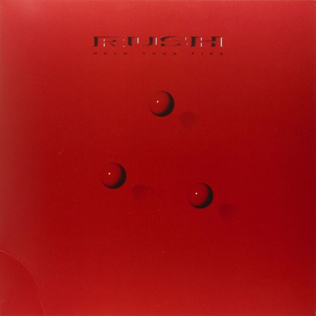 RUSH : HOLD YOUR FIRE   (180g LP Vinyl + download) sealed